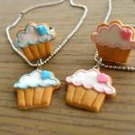 Cupcake Cookie Ring - Blue ..